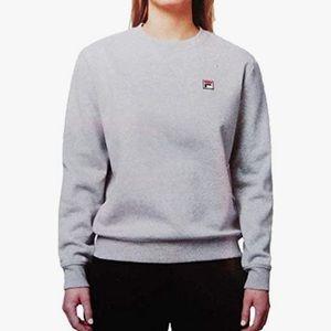 Fila Michelle Pullover Dark Grey Crewneck Sweater